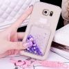 (559-037)เคสมือถือซัมซุง Case Samsung S7 Edge Plus เคสนิ่มใสเพชรคริสตัลขวดน้ำหอมแฟชั่นสวยๆ
