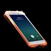 (502-011)เคสมือถือ Case OPPO R7/R7 Lite เคสนิ่มใสสไตล์กันกระแทก Flash LED