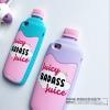 (483-012)เคสมือถือไอโฟน case iphone 6/6S เคสนิ่ม 3D ขวดน้ำผลไม้