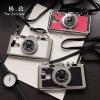 (496-013)เคสมือถือ Case Huawei Honor 7 เคสนิ่มชุบแวว 3D สไตล์กล้องถ่ายรูปยอดฮิต