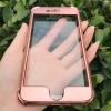 (568-001)เคสมือถือไอโฟน Case iPhone 7 เคพลาสติกสไตล์กันกระแทกประกบหน้าหลังแฟชั่น