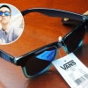 แว่นกันแดด Vans Spicoli 4 Shades Translucent Maliblue/Evil Blue <ปรอทน้ำเงิน>