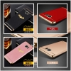 (544-023)เคสมือถือซัมซุง Case Samsung S7 Edge เคสพลาสติกขอบทองสวยหรู