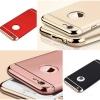 (390-030)เคสมือถือไอโฟน case iphone 6Plus/6S Plus เคสพลาสติกขอบชุบเงาแววหรูหรา