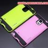 (413-007)เคสมือถือซัมซุงโน๊ต Case Note4 เคสนิ่มพื้นหลังพลาสติกทูโทนสุดสวย