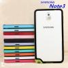 (423-012)เคสมือถือซัมซุงโน๊ต Case Note3 เคสบัมเปอร์ทูโทนประกบสองชิ้น