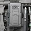 (002-135)เคสมือถือซัมซุง Case Samsung Galaxy J1(2016) เคสนิ่ม+พื้นหลังประกบแบบพลาสติก+มีขาตั้ง+ที่เหน็บเอวสไตล์กันกระแทก