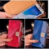 (022-082)เคสมือถือ Samsung Galaxy Note2 เคสพลาสติกชุบฝาพับหนัง PU clamshell ลายงู