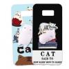 (616-025)เคสมือถือไอโฟน Case Samsung S8+ เคสตัวนุ่มนิ่ม บี้ๆน่ารักๆ Trending Squishy 3D Destress