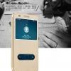 (516-005)เคสมือถือ Case Huawei Honor 5A/Y6II เคสพลาสติกฝาพับ Pu โชว์หน้าจอแบ็คแกมมอน