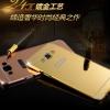 (025-039)เคสมือถือซัมซุง Case Samsung Galaxy On7 เฟรมโลหะพื้นหลังอะคริลิคพลาสติกทอง 24K