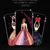 (025-860)เคสมือถือไอโฟน Case iPhone7/iPhone8 เคสนิ่มซิลิโคนลายการ์ตูนผู้หญิง ขอบเพชรหรูหรา