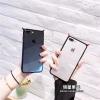 (513-095)เคสมือถือไอโฟน Case iPhone 6Plus/6S Plus เคพลาสติกใสขอบนิ่ม Devil