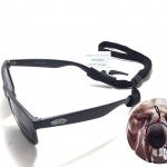 สายคล้องแว่นตา PLAY-KING ยืดหยุ่นสูง กระชับใบหน้า สายปรับระดับได้ + ฟรี!! ซิลิโคนขาแว่นกันลืนอีก 1 คู่