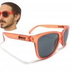 แว่นกันแดด Glassy Sunhaters Deric Orange 54-18 140 <ส้ม>