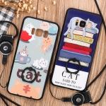 (025-507)เคสมือถือไอโฟน Case Samsung S8 เคสขอบนิ่มพื้นหลังพลาสติกลายสวยๆน่ารักๆยอดฮิต