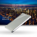 (535-004)เคสมือถือซัมซุง Case Samsung A7 เคสพลาสติกกึ่งโปร่งใสสไตล์ Clear View