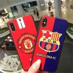 (436-304)เคสมือถือไอโฟน Case iPhone X เคสนิ่มลายทีมฟุตบอล