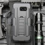(002-190)เคสมือถือซัมซุง Case Samsung A3 2017 เคสกันกระแทกแบบเหน็บเอวยอดฮิต