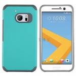 (002-181)เคสมือถือ HTC 10 เคสนิ่ม+พื้นหลังประกบแบบพลาสติกสองชั้น
