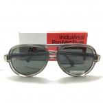 แว่นกันแดด Vintage AO American Optical Flexi-Fit AA 5 1/2 S Z87 <Smoke Grey> ของแท้ 100%