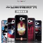 (482-010)เคสมือถือซัมซุง Case Samsung A8(2016) เคสนิ่มดำลายกราฟฟิค 3D สวยๆ