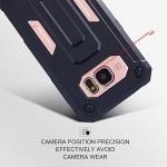 (002-137)เคสมือถือซัมซุง Case Samsung Galaxy S7 Edge เคสนิ่ม+PC สไตล์กันกระแทกทรง Terminator