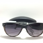 แว่นกันแดด Jessica Simpson J5133 OXAN Black Animal Sunglasses NWT