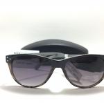 แว่นกันแดด Jessica Simpson J5133 OXAN Black Animal Sunglasses NWT