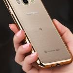 (025-1178)เคสมือถือซัมซุง Case Samsung Galaxy J5 2016 เคสนิ่มใสเรียบหรูขอบแววสี