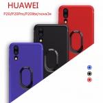 (436-447)เคสมือถือ Case Huawei Nova3e/P20lite เคสนิ่มแหวนแฟชั่นติดกับตัวดูดแม่เหล็ก