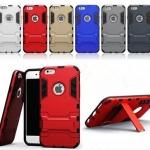(538-008)เคสมือถือไอโฟน Case iPhone5C เคสนิ่มเกราะพลาสติกสไตล์ IronMan