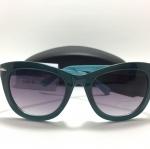 แว่นกันแดด Lane Bryant Sunglasses 50-135 <เขียว>
