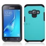 (002-189)เคสมือถือซัมซุง Case Samsung J1(2016) เคสกันกระแทกขอบสี