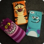 (513-033)เคสมือถือไอโฟน case iphone 5/5s/SE เคสนิ่มทิกเกอร์