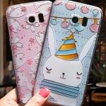 (534-001)เคสมือถือซัมซุง Case Samsung S7 Edge เคสนิ่มลาย 3D น่ารักๆ สไตล์เกาหลี