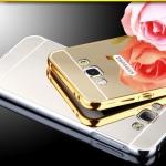 (025-089)เคสมือถือซัมซุง Case Samsung Galaxy J2 เคสกรอบโลหะพื้นหลังอะคริลิคแวววับคล้ายกระจกสวยหรู