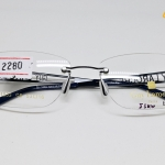 กรอบแว่นตา Guy Laroche ของแท้ รุ่น GL-1033 กรอบเจาะ ขาสีดำ