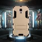 (394-010)เคสมือถือซัมซุงโน๊ต Case Note4 เคสนิ่มกันกระแทกสองชิ้นประกบสไตล์ Iron Man