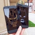 (633-002)เคสมือถือไอโฟน case iphone 5/5s/SE เคสนิ่ม IronMan Batman