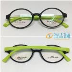 กรอบพร้อมเลนส์โค้ท แว่นตาเกาหลี ทรงรี รุ่น TR90137