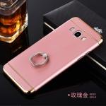 (พร้อมส่ง)เคสมือถือซัมซุง Case Samsung J5 เคสพลาสติกขอบทองสวยหรู