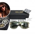 แว่นกันแดด SKULL RIDER รุ่น Rubber Jade Green Shadow <Skull-41>