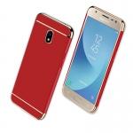 (025-1039)เคสมือถือซัมซุง Case Samsung J5 Pro เคสพลาสติกสีสดใสขอบแววสไตล์แฟชั่น