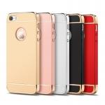 (025-1094)เคสมือถือไอโฟน case iphone 5/5s/SE เคสพลาสติกขอบแววสไตส์เรียบหรูโชว์โลโก้