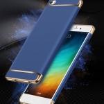 (025-516)เคสมือถือ Case Huawei P8 Lite เคสพลาสติกขอบแววแฟชั่น
