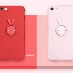 (693-002)เคสมือถือไอโฟน Case iPhone 6Plus/6S Plus เคสนิ่ม Lovely Rabbit