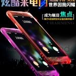 (502-020)เคสมือถือ Case Huawei P9Lite/G9Lite เคสนิ่มใสสะท้อนแสงแฟลช