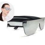 แว่นกันแดด Tuttolente flat top S30051 54-18 145 <ปรอทเงิน>