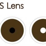 IRIS LENS คอนแทคเลนส์รักษาตา สีน้ำตาลเข้ม (6 pcs.) รายเดือน